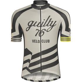 guilty 76 racing Velo Club Pro Race Jersey Uomo, grigio